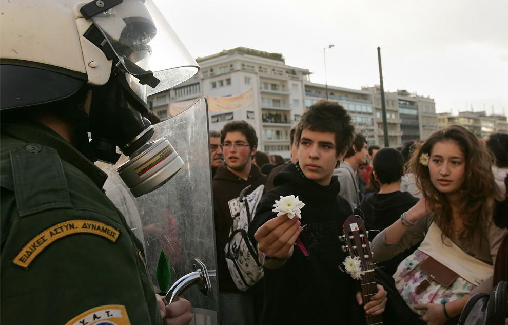 riots in athens, greece
