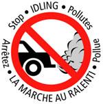 stop idling, arretez!