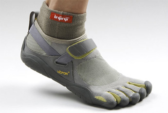 running with vibrams