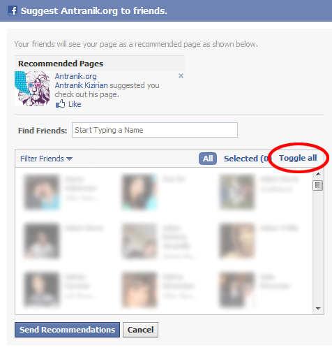 how to make a facebook page secret