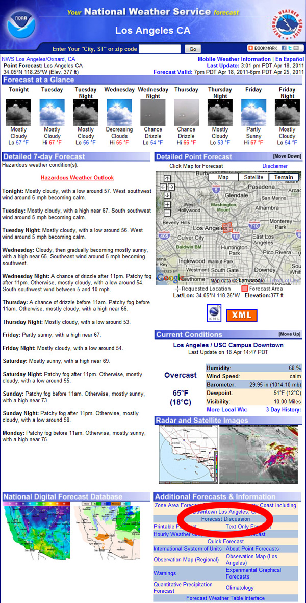 Weather Lovers: Get Deeper Forecast Info