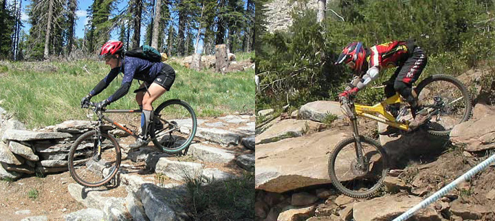 Are bad ass mountain bike something is