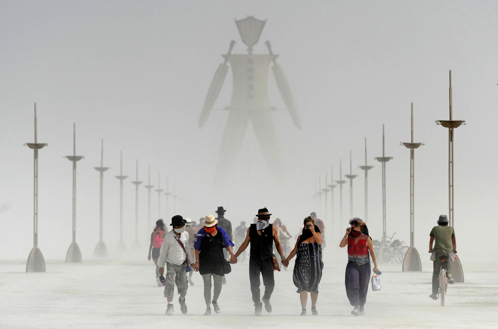 Burning man will make you feel a very, very wide range of emotions and shake up something deep within you, no matter how strong you think you are. (Photo by Andy Barron)