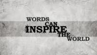 words can inspire the world