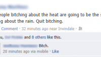 Bitching about the weather