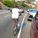 riding around a blind curve