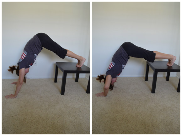 Box push ups