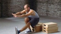 Pavel Tsatsouline demonstrating the box pistol.
