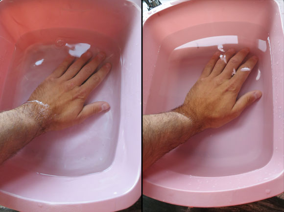 wrist hydrotherapy immerse
