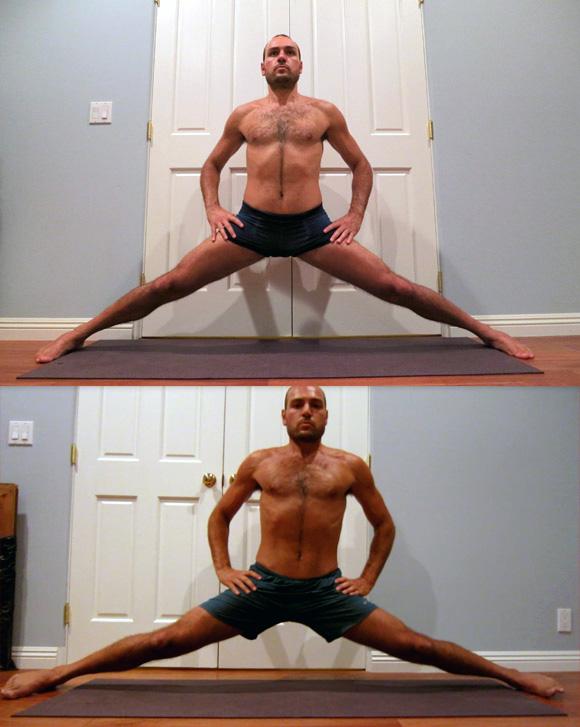 antranik middle splits 3 month comparison