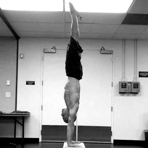 handstand flat back