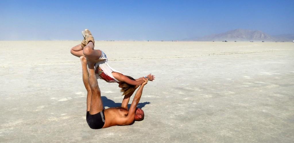 cindy and i acro yoga