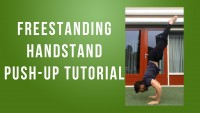 freestanding handstand push up tutorial by yaad mohammad