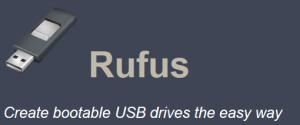 rufus bootable usb