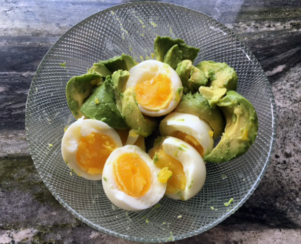egg salad main ingredients